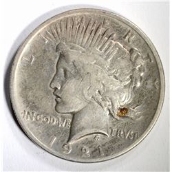 1921 PEACE DOLLAR FINE KEY DATE