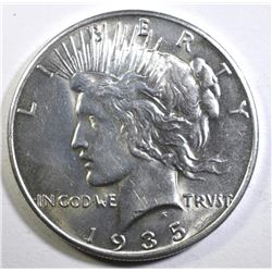 1935 PEACE DOLLAR CHOICE BU