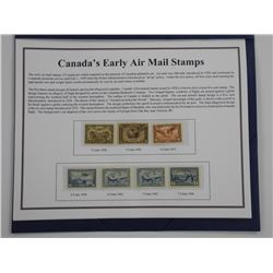 Air Mail Stamp Collection - Mint Condition