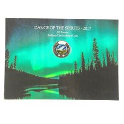 Canada 2017 Glow in The Dark Two Dollar. The First