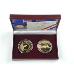 Hawaii UNC Coin Collection 5% 24kt Gold