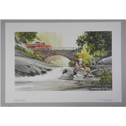 """Doug Laird Hand Signed Limited Edition Litho """"Rea"""