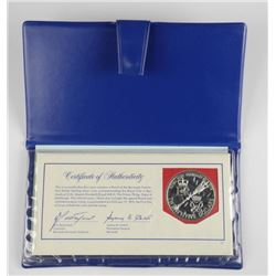 Royal Wedding - Feb 1975. Sterling Silver Coin and