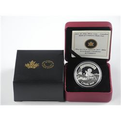 RCM - $5.00 .9999 Fine Silver Coin 'Canadian Bank