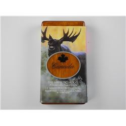 The Majestic Moose .9999 Fine Silver $5.00 Proof C