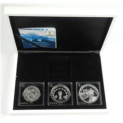 2014 - Fifa World Cup Brazil 3 Coin Set