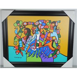 Norval Morrisseau (1931-2007) Masterpiece Canvas.