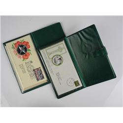 2x Medal, Stamp and Covers 'Sterling Silver'