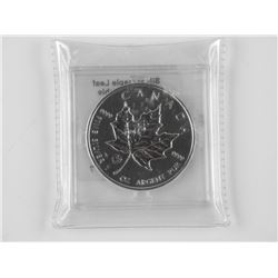 2013 999 Fine Silver $5.00 Maple Leaf with Privy M