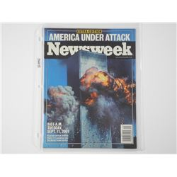 'NEWSWEEK' Extra Edition 'America Under Attack' Se