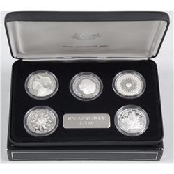 'Royal Mint' 5 Coin Set.