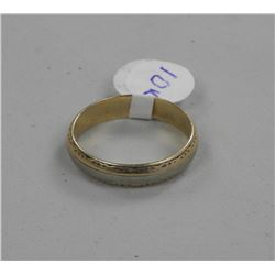 Estate 10kt Gold Band size 10 1/2.