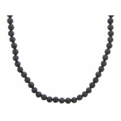 "22"" Lava Stone Necklace."