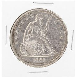 1860-O $1 Seated Liberty Silver Dollar Coin