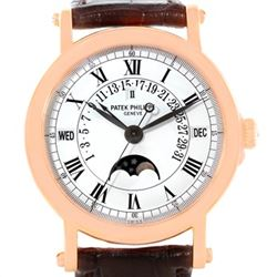 Patek Philippe Perpetual Calendar Retrograde 18k Rose Gold Watch