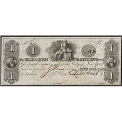 1826 $1 The Hoboken Banking and Grazing Company Obsolete Note
