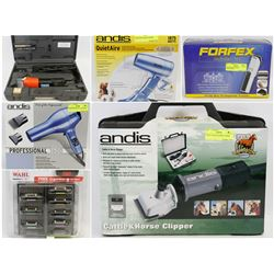FEATURED ITEMS: ANDIS CLIPPERS, DRYERS, AND MORE!