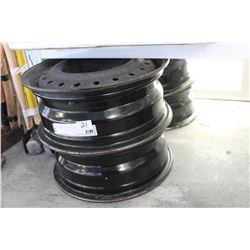 FOUR FIFTEN INCH RIMS