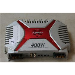XPLOD 480 WATT AUDIO POWER AMP