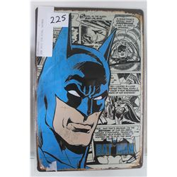 NEW 8X12 TIN SIGN, BATMAN