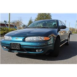 2003 OLDSMOBILE ALERO 4 DOOR SEDAN AUTOMATIC 114000KM WITH KEYS FOB AND REGISTRATION
