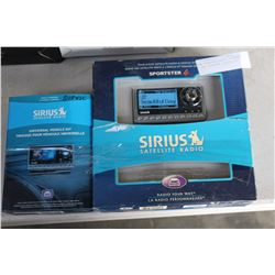 NEW OVERSTOCK SIRIUS SPORTSTER 4 AND UNIVERSAL VEHICLE KIT