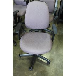 ROLLING GAS LIFT OFFICE ARMCHAIR