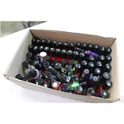 TRAY OF SALLY HENSEN NAIL POLISH
