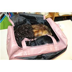 LARGE PURSE WITH WIGS