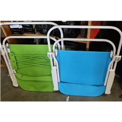 2 FOLDING PATIO CHAIRS
