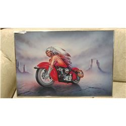 INDIAN MOTORCYCLE PRINT