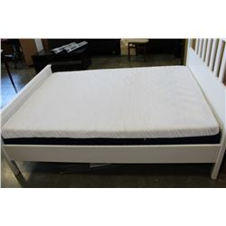 DOUBLE SIZE FOAM SILK AND SNOW MATTRESS