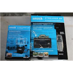 NEW OVERSTOCK SIRIUS STREAMER GT AND HOME DOCKING KIT