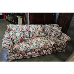 ROWE FURNITURE FLORAL SOFA