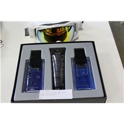 OAKLEY SKI GOGGLES AND SUNG HOMME PERFUME SET