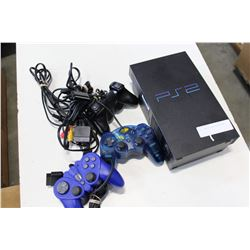 PS2 CONSOLE AND CONTROLLERS
