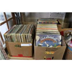 THREE BOXES OF COLLECTIBLE RECORDS
