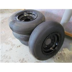 Set of 4 Carlyle Smooth Implement Tires