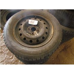 4 Tires and Rims-Nordic 205-60-15