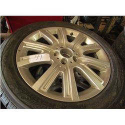 4 Tires + Rims Scorpian Ice and Snow-255-75-17