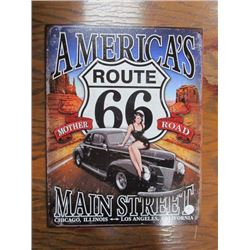 Route 66 American Main St Mother Road Repro