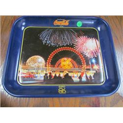 Expo 1986 Coke Tray