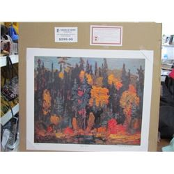 J.E.H. Macdonald Limited Edition Unframed Print