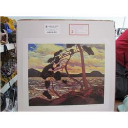 "Tom Thomson Limited Edition Unframed Print ""West Wind""20x24"