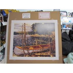 "Tom Thomson Limited Edition Unframed Print""The Canoe""20x24"