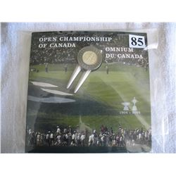 2004 Canada Post/ Canadian Mint Dime and Stamp Set - Golfing Related