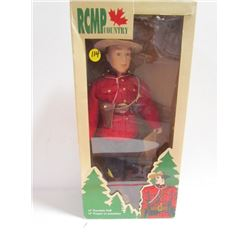 "Avonlea Traditions-RCMP Country 13"" Porcelain Doll"