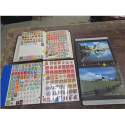 2 Stamp Book Collections+ 1 Farm Photos Collection