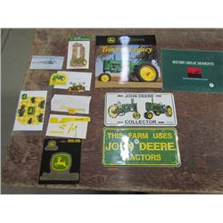 John Deere Calendars,Plates,Decals