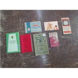 Vintage Informational Brochure Lot (7)